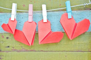 bigstock-Paper-Heart-Hanging-On-The-Clo-41127535