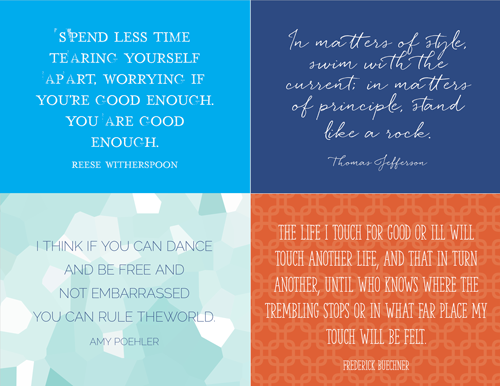 free inspirational postcards