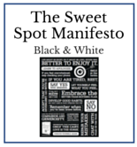 The Sweet Spot Manifesto - BW - Dr. Christine Carter