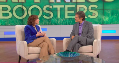 Dr. Christine Carter, Dr. Oz: Happiness Boosters