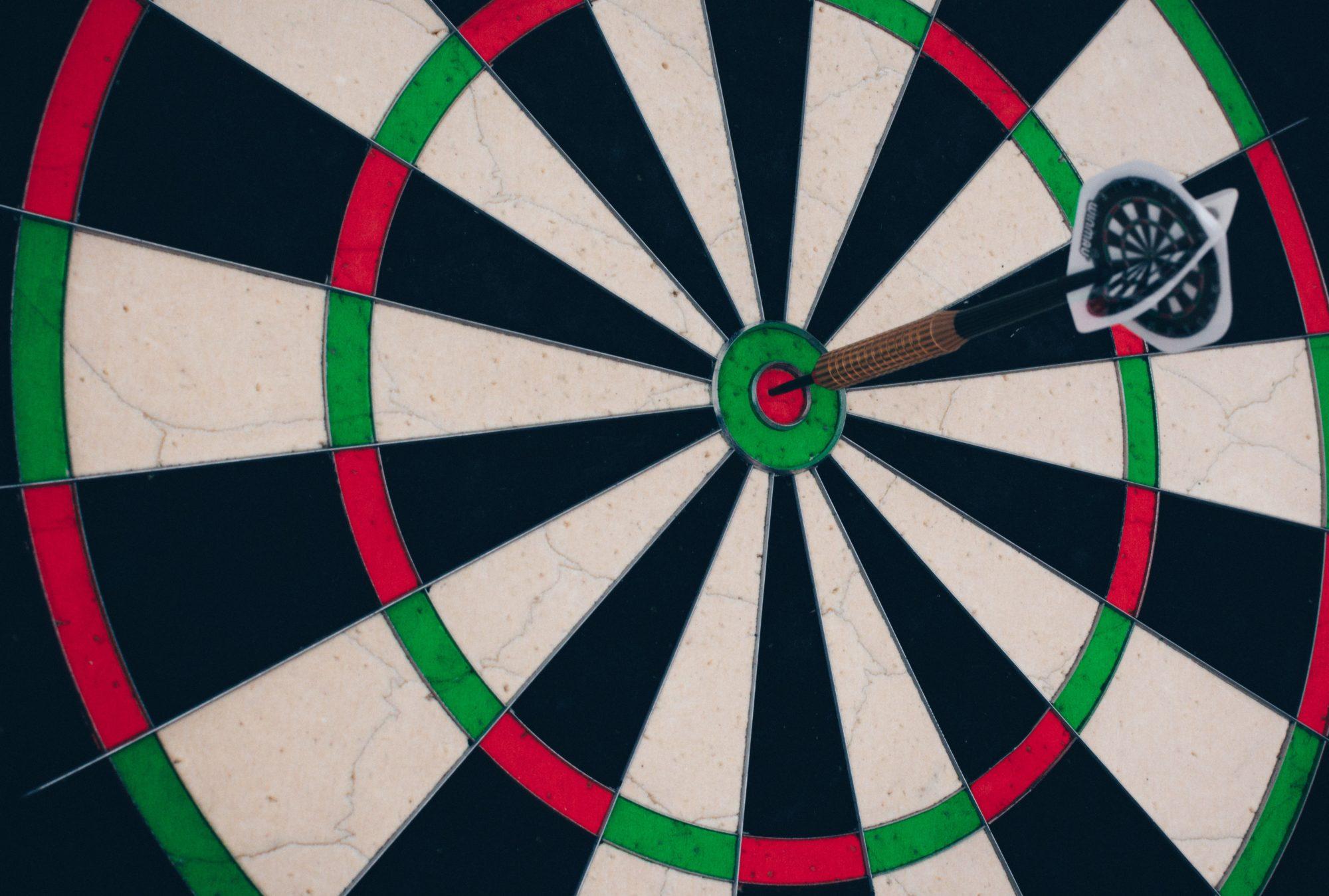arrow hits target